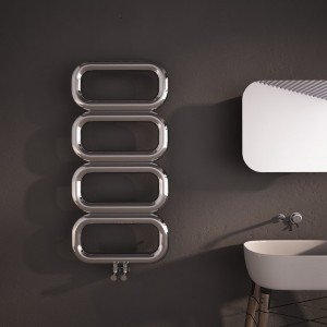 "Carisa ""Talent"" Brushed OR Polished Stainless Steel Designer Towel Rails (3 Sizes)"