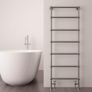 """Carisa """"Victoria"""" Chrome Designer Towel Rails (2 Sizes)"""