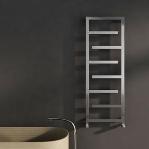 "Carisa ""Eclipse"" Brushed Stainless Steel Designer Towel Rails (2 Sizes)"
