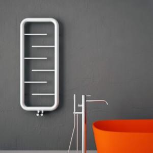 "Carisa ""Aren"" Brushed OR Polished Stainless Steel Designer Towel Rail Radiator (3 Sizes)"