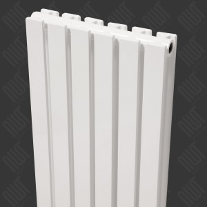 "Ultraheat ""Linear"" Vertical White Single & Double Flat Panel Radiators (15 Sizes)"
