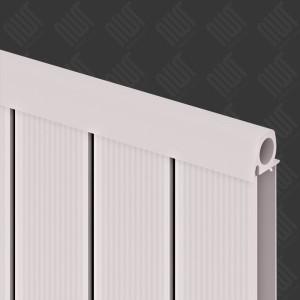 """Carisa """"Elite"""" White Aluminium Designer Vertical Radiators (3 Sizes)"""
