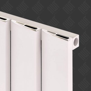 "Carisa ""Step"" White Aluminium Designer Vertical Radiators (3 Sizes)"