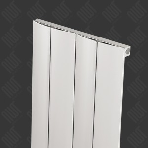 "Carisa ""Play"" Matt Anodised Aluminium Designer Vertical Radiators (2 Sizes)"