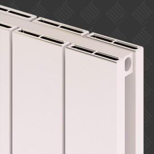 "Carisa ""Nemo Double"" White Aluminium Flat Panel Horizontal Designer Radiators (5 Sizes)"
