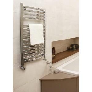 500mm x 800mm Ellipse Chrome Towel Rail