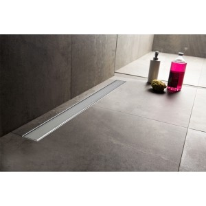 """Design 11 - Stainless Steel """"Rectangular"""" Wetroom Drainage System - 5 Sizes (600mm to 1500mm)"""