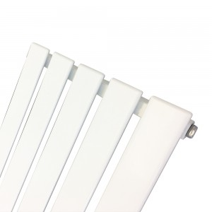 360mm (w) x 1250mm (h) Corwen White Vertical Radiator