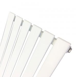 440mm (w) x 1850mm (h) Corwen White Vertical Radiator