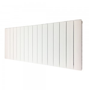 1030mm (w) x 500mm (h) Cariad White (Aluminium) Double Panel