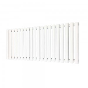 1350mm (w) x 500mm (h) Brecon White Horizontal Radiator
