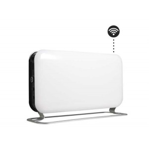 "1200W ""Mill"" Designer Electric Free Standing Horizontal WIFI Convector Heater - 620mm(w) x 335mm(h)"