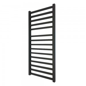 500mm x 1165mm Denbigh Black Towel Rail