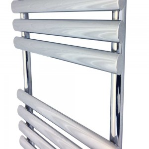 "500mm (w) x 930mm (h) ""Brecon"" Chrome Designer Towel Rail"