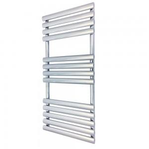 500mm (w) x 1200mm (h) Brecon Chrome Designer Towel Rail