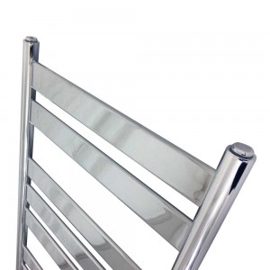 "500mm (w) x 950mm (h) ""Ruthin"" Chrome Designer Towel Rail"