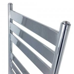 "500mm (w) x 1300mm (h) ""Ruthin"" Chrome Designer Towel Rail"