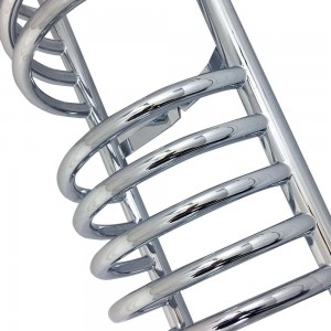 "300mm (w) x 1600mm (h) ""Buckley"" Chrome Designer Towel Rail"