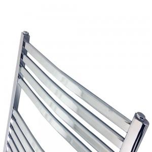 "600mm (w) x 1400mm (h) ""Ellipse""Chrome Designer Towel Rail"