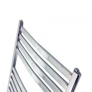 "500mm (w) x 1100mm (h) ""Ellipse""Chrome Designer Towel Rail"