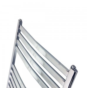 "500mm (w) x 800mm (h) ""Ellipse""Chrome Designer Towel Rail"