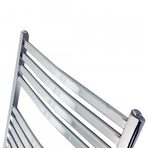 "600mm (w) x 800mm (h) ""Ellipse""Chrome Designer Towel Rail"