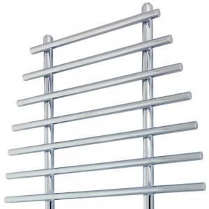 "700mm (w) x 1200mm (h) ""Barmouth"" Chrome Designer Towel Rail"