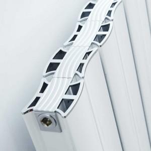 "Ultraheat ""Virtu"" White Horizontal Aluminium Designer Radiators (10 Sizes)"