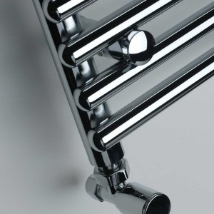 "Ultraheat ""Windsor"" Chrome Tube on Tube Designer Heated Towel Rails (3 Sizes)"