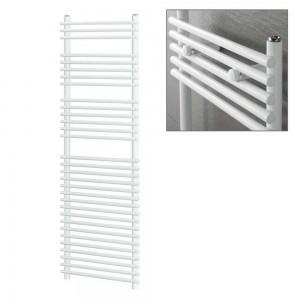 "Ultraheat ""Windsor"" White Tube on Tube Designer Heated Towel Rails (3 Sizes)"