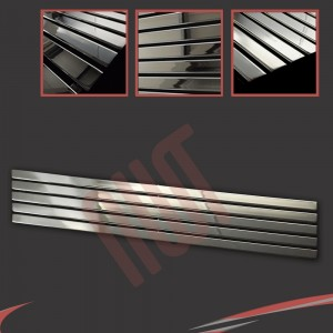 1850mm x 360mm Corwen Chrome Horizontal Radiator
