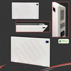 "1500W ""Nova Live R"" White Electric Panel Heater - 600mm(w) x 400mm(h)"