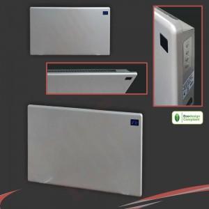 "1500W ""Nova Live R"" Silver Electric Panel Heater - 600mm(w) x 400mm(h)"