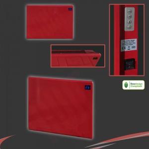 "1000W ""Nova Live R"" Red Electric Panel Heater - 500mm(w) x 400mm(h)"