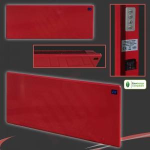 "2000w ""Nova Live R"" Black Electric Panel Heater - 940mm(w) x 400mm(h)"