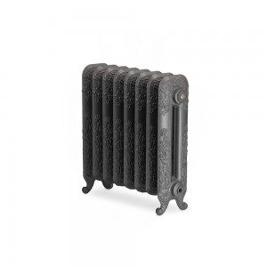 "The ""Albion"" 2 Column 590mm (H) Traditional Victorian Cast Iron Radiator (3 to 30 Sections Wide) - Choose your Finish"