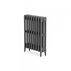"The ""Gladstone"" 3 Column 645mm (H) Traditional Victorian Cast Iron Radiator (3 to 30 Sections Wide) - Choose your Finish"