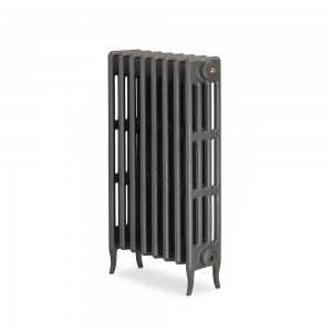 "The ""Gladstone"" 4 Column 813mm (H) Traditional Victorian Cast Iron Radiator (3 to 30 Sections Wide) - Choose your Finish"