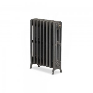 "The ""Mayfair"" 4 Column 660mm (H) Traditional Victorian Cast Iron Radiator (3 to 30 Sections Wide) - Choose your Finish"