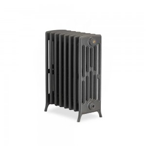"The ""Mayfair"" 6 Column 660mm (H) Traditional Victorian Cast Iron Radiator (3 to 30 Sections Wide) - Choose your Finish"