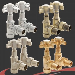 Lambeth Manual Radiator Valves 4 Finishes
