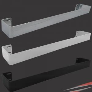 Kudox White, Black & Chrome Towel Bars for Alulite Ranges