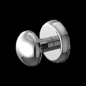 """Chrome Magnetic """"Grip"""" Robe/Coat Hanger (Heavyweight Magnet)"""