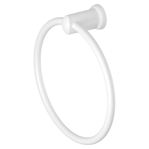 White Magnetic Towel Ring Holder (Heavyweight Magnet)