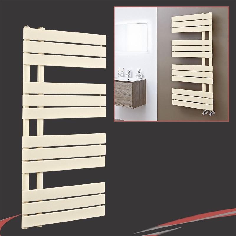 500mm (w) x 1200mm (h) Apollo Latte Heated Towel Rail