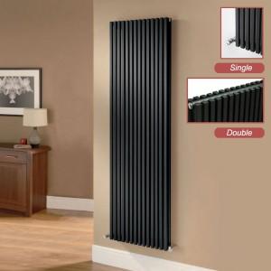 Ultraheat Klon Black Single Double Vertical Radiators