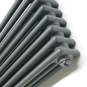 """Korona"" 3 Column - 500mm(h) & 600mm(h) Graphex Horizontal Radiators (9 Sizes)"
