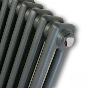 """Korona"" 2 Column - 1500mm(h) or 1800mm(h) Graphex Vertical Radiators (8 Sizes)"