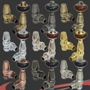 Belgravia Thermostatic Traditional  Radiator Valves 9 Finishes