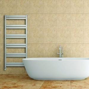 "Aeon ""Cat Ladder"" Designer Brushed or Polished Stainless Steel Towel Rail"
